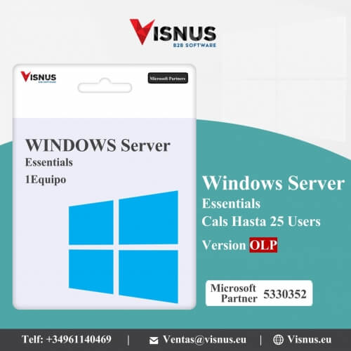 Precio Windows Server 2019 Essentials Perpetua, comprar Windows