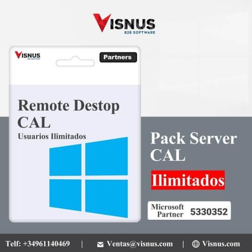 Precio Windows cal ilimitado remote desktop olp perpetua