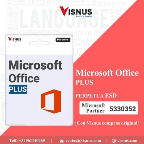 Precio Office Plus 2019 Perpetua OLP, comprar Office Plus 2019