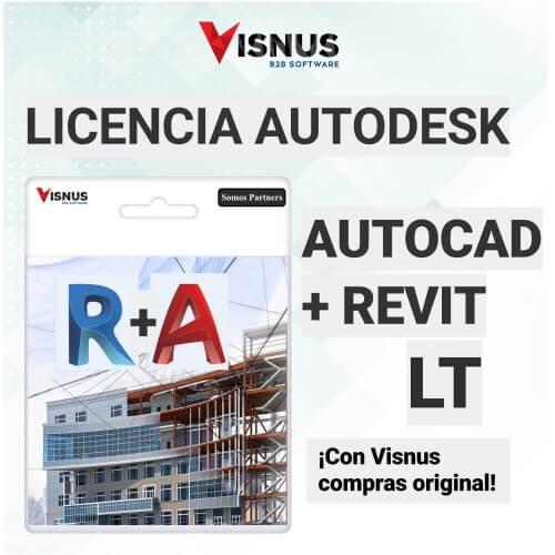 Precio Autocad + Revit LT Suscripcion, comprar Autocad + Revit