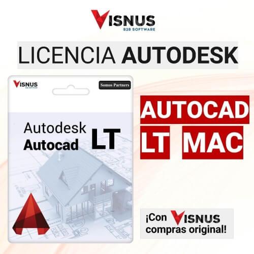 Precio Autocad LT MAC 2D Suscripción, comprar Autocad LT MAC 2D