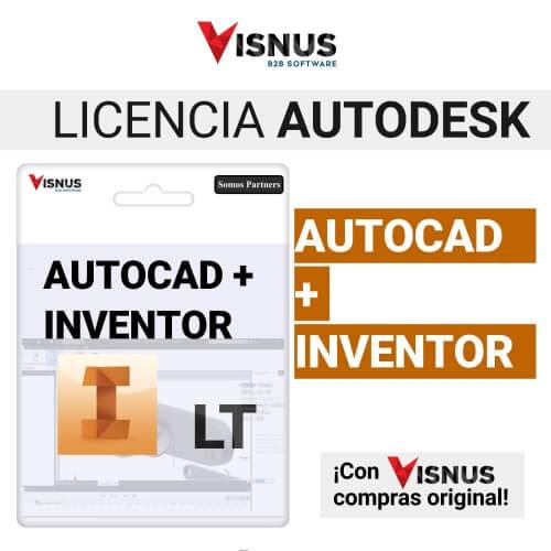 Precio Autocad Inventor LT Suite 1 Año, comprar Autocad
