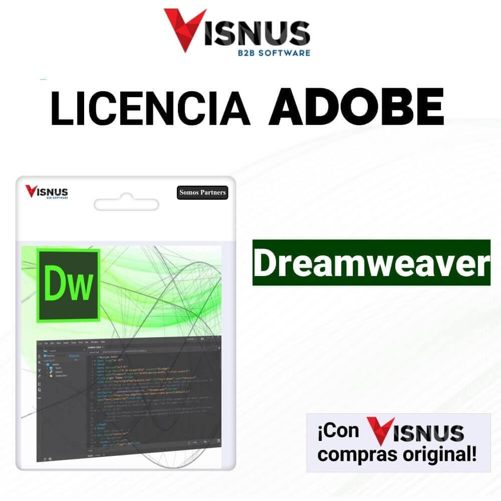 Precio Dreamweaver Suscripcion, comprar Dreamweaver