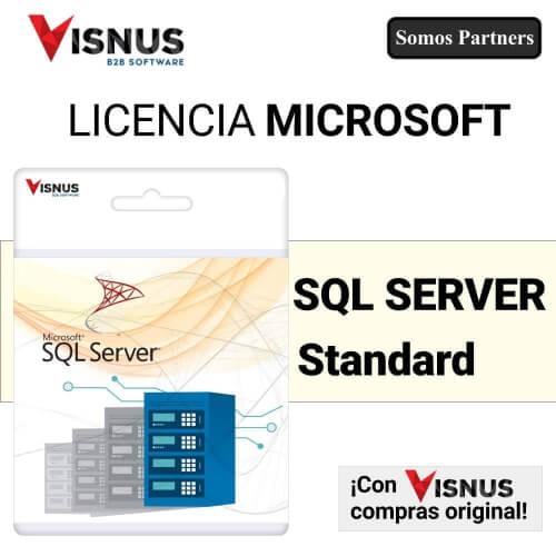Precio SQL Server Estándar Perpetua, comprar SQL Server