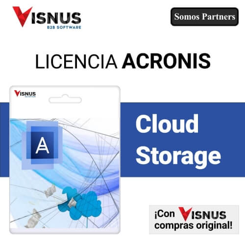 Precio Acronis Cloud Storage, comprar Acronis Cloud Storage