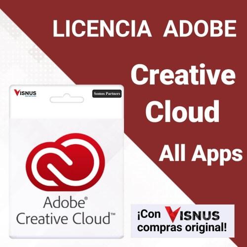 Precio Creative Cloud All Apps suscripcion, comprar Creative