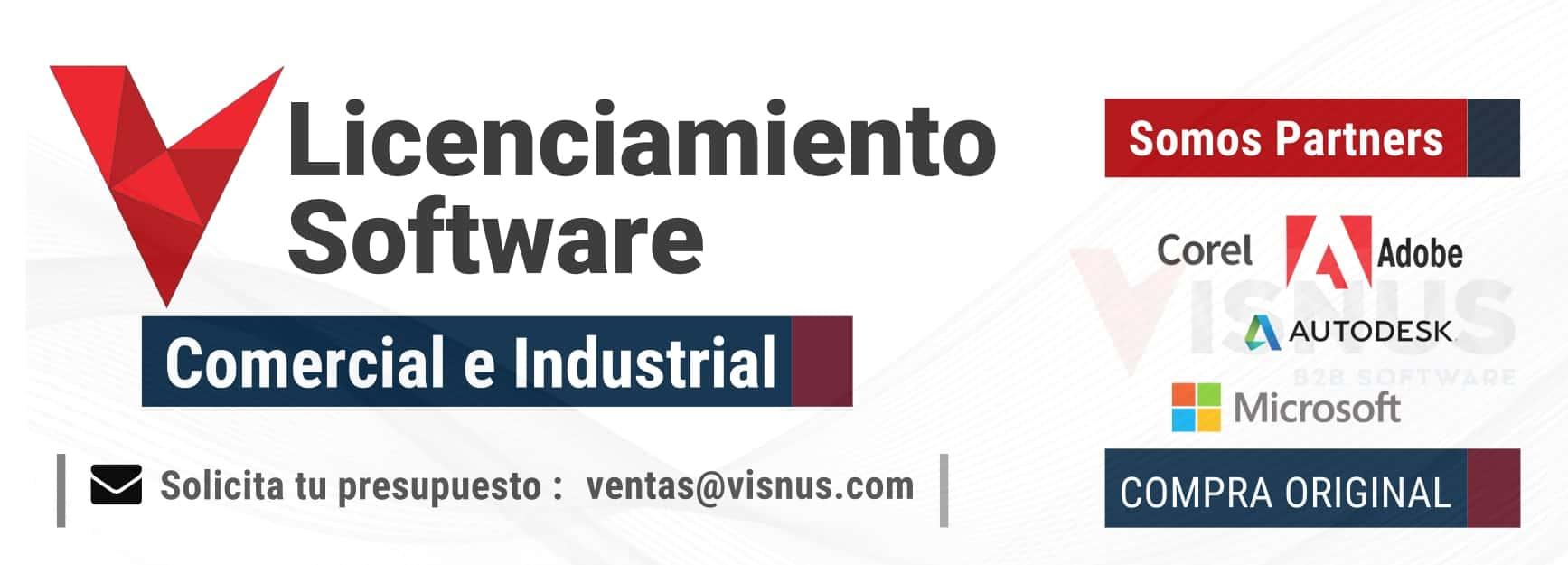 Visnus distribuidor de licencias de software. Compra software online con nosotros